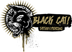Black Cat Tattoo Logo
